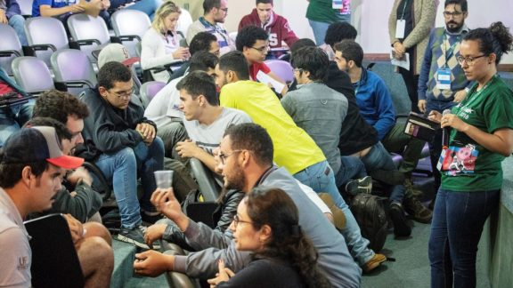 Recorde de estudantes no Vacathon, o hackathon do movimento Ideas For Milk